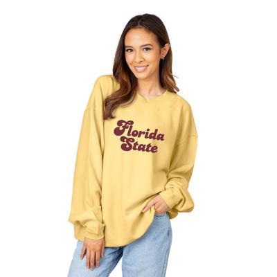 Florida State Chicka-D Women's Vintage Script Corded Sweatshirt
