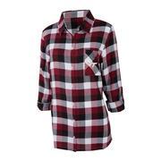 Virginia Tech Women's Long Sleeve Flannel Nightshirt