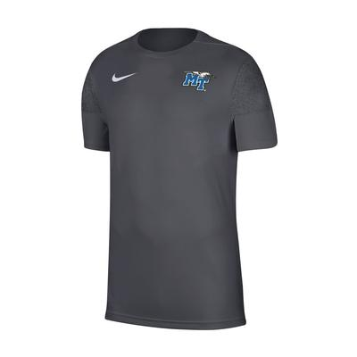 MTSU Nike Men's Coaches UV Short Sleeve Top