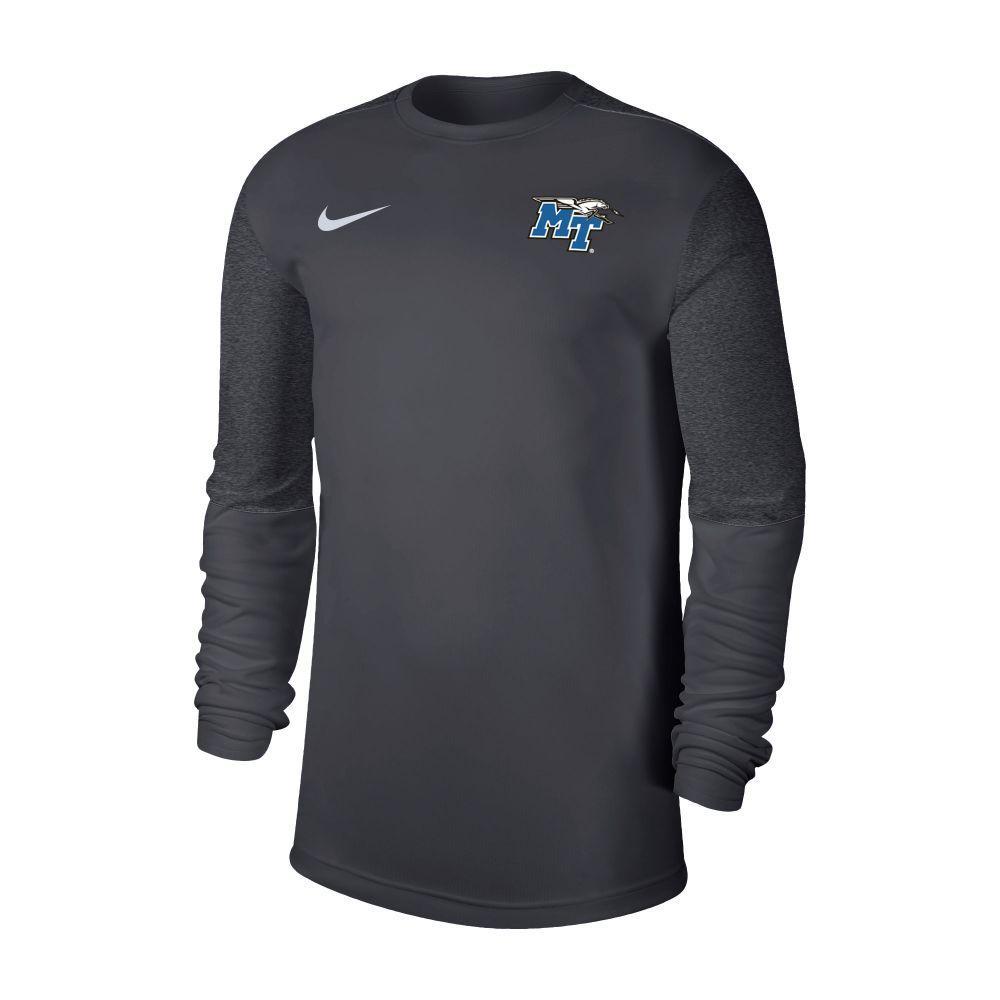 Mtsu Nike Men's Coaches Uv Long Sleeve Top