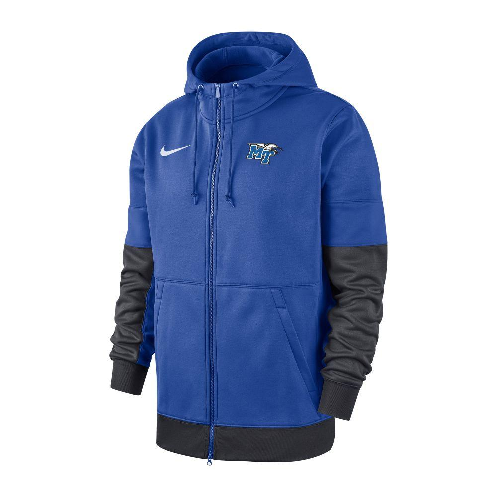 Mtsu Nike Men's Therma Hoody