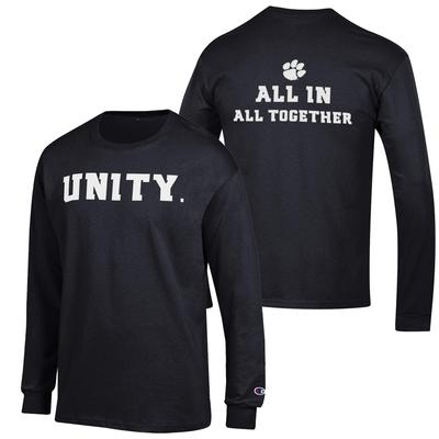 Clemson All In All Together Long Sleeve Tee