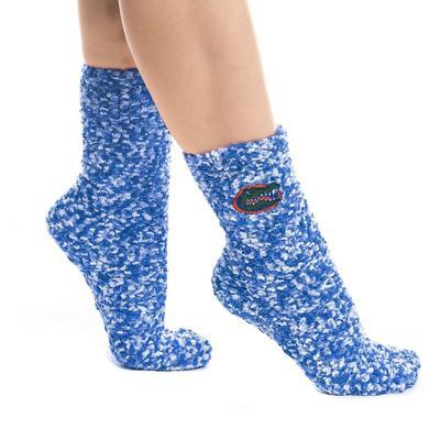 Florida ZooZat Fuzzy Marled Grip Socks