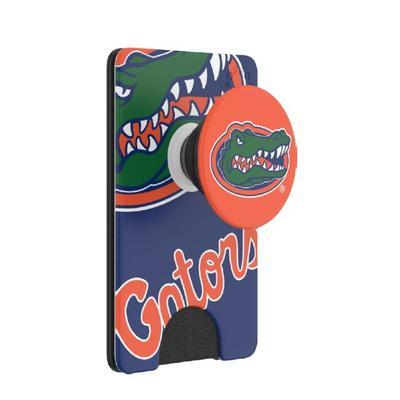 Florida PopSockets Gator Logo PopWallet+