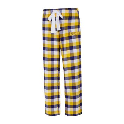LSU Women's Flannel Pant