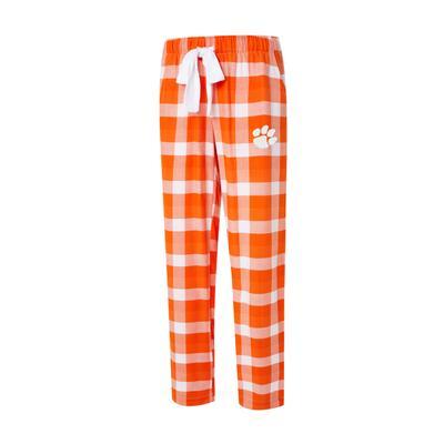 Clemson Women's Flannel Pant