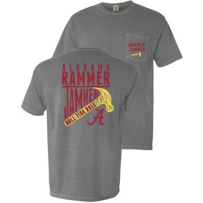 Alabama Yellow Hammer Comfort Colors Pocket Tee