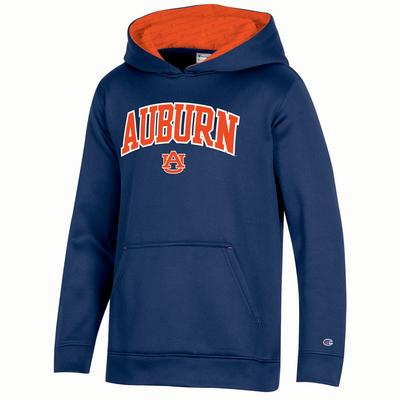 Auburn Champion Kids Field Day Fleece Hoody