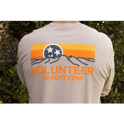 Tennessee Volunteer Traditions Oatmeal Horizon Long Sleeve Pocket Tee