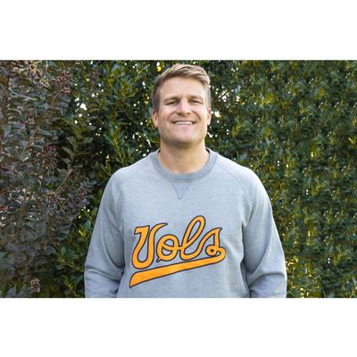 Tennessee Volunteer Traditions Vol Script Fleece Crewneck