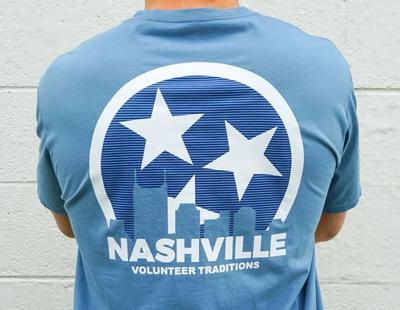 Volunteer Traditions Nashville Pocket Tee Shirt
