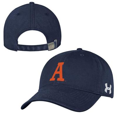 Auburn Tigers Under Armour Throwback Adjustable Hat
