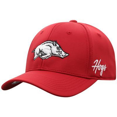 Arkansas Top of the World Phenom Memory Flex Fit Hat