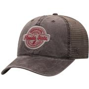 Florida State Top Of The World Ominous Patch Trucker Hat
