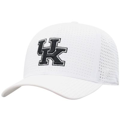 Kentucky Top of the World White Onefit Vent Mesh Hat