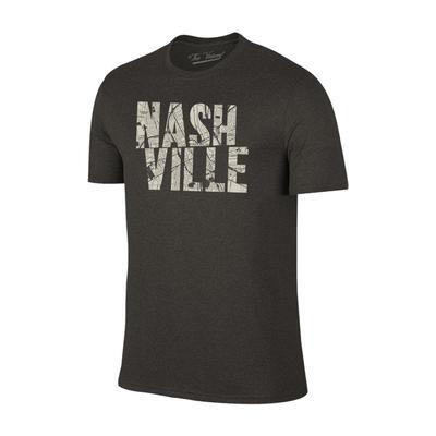 Nashville City Map Fill Short Sleeve Tee