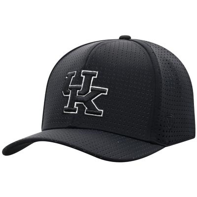 Kentucky Top of the World Black Onefit Vent Mesh Hat