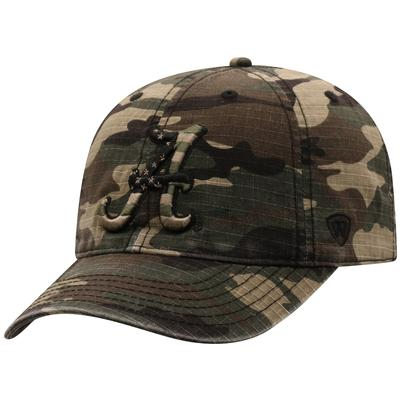 Alabama Top of the World Camo Woodland Flag Logo Hat
