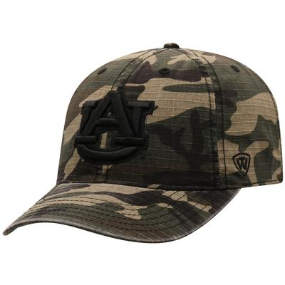Auburn Top of the World Camo Woodland Hat