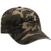 Florida State Top Of The World Camo Woodland Flag Logo Hat