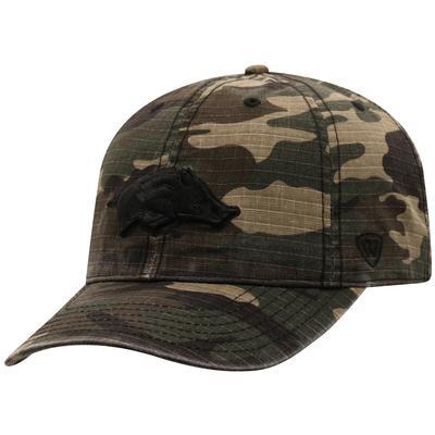 Arkansas Top of the World Camo Woodland Hat
