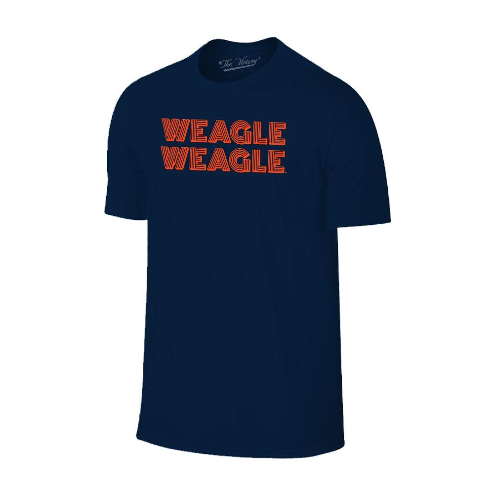 Auburn Tigers Weagle Stack Short Sleeve Tee