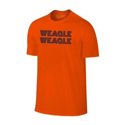 Auburn Tigers WEAGLE Stack Short Sleeve Tee ORANGE