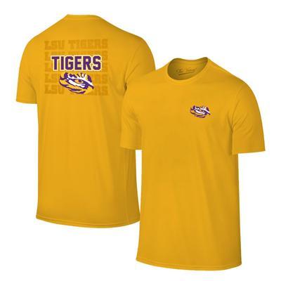 LSU Tiger Eye Short Sleeve Tee GOLD