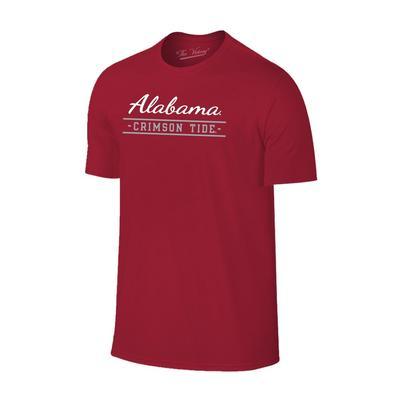 Alabama Crimson Tide Script Stack Short Sleeve Tee