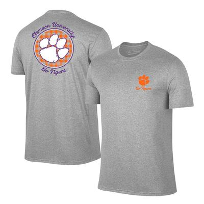 Clemson Women's Gingham Short Sleeve Tee