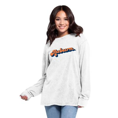 Auburn Women's Chicka-D Vintage Concert Long Sleeve