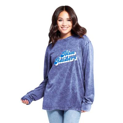 MTSU Women's Chicka-D Vintage Concert Long Sleeve