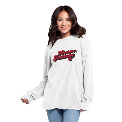 Western Kentucky Women's Chicka-D Vintage Concert Long Sleeve
