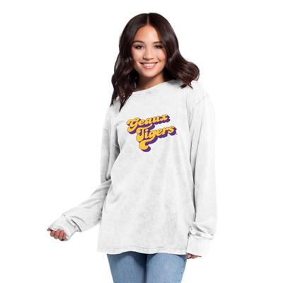 LSU Women's Chicka-D Vintage Concert Long Sleeve