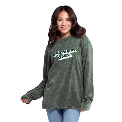Michigan State Women's Chicka-D Vintage Concert Long Sleeve