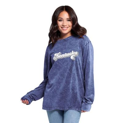 Kentucky Women's Chicka-D Vintage Concert Long Sleeve