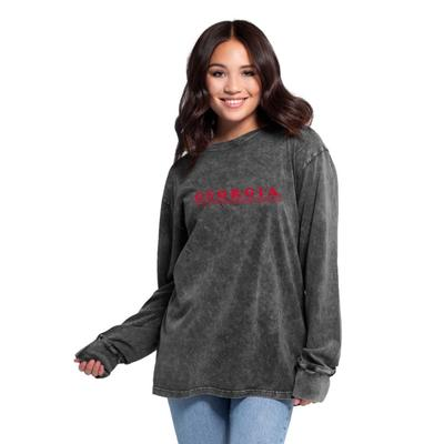 Georgia Women's Chicka-D Bar Retro Long Sleeve