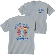 Sec All Roads Lead To Victory Comfort Color Tee