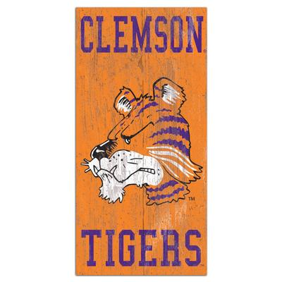 Clemson Heritage Distressed 6