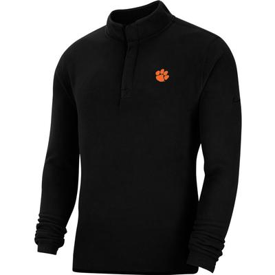 Clemson Nike Golf Therma Victory 1/2 Zip Pullover BLACK