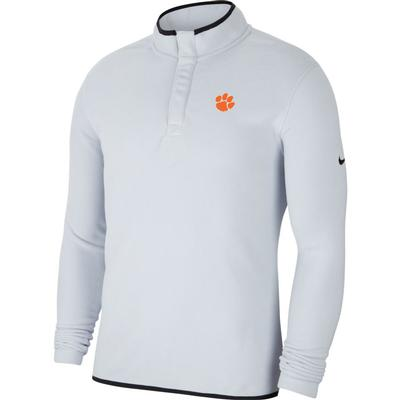 Clemson Nike Golf Therma Victory 1/2 Zip Pullover SKY_GREY