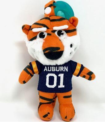 Auburn Gamezies Plush Mascot Pacifier Holder