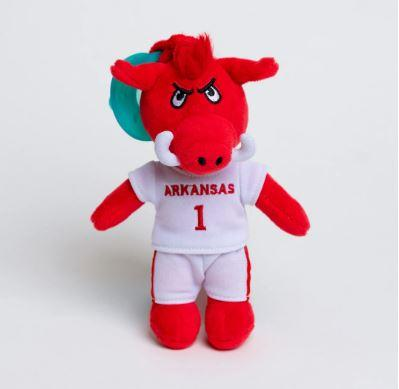 Arkansas Gamezies Plush Mascot Pacifier Holder