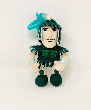 Michigan State Gamezies Plush Mascot Pacifier Holder