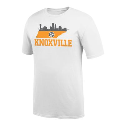 Tennessee Men's Knoxville Tri Star Skyline Tee Shirt