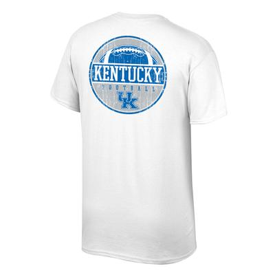 Kentucky Men's Distressed Circle Tee Shirt