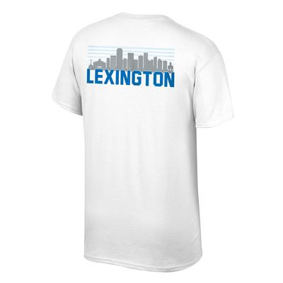 Kentucky Short Sleeve Lexington Skyline Tee Shirt