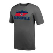Nashville Tri Star Skyline Short Sleeve Tee