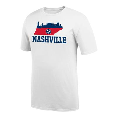 Nashville Tri Star Skyline Short Sleeve Tee