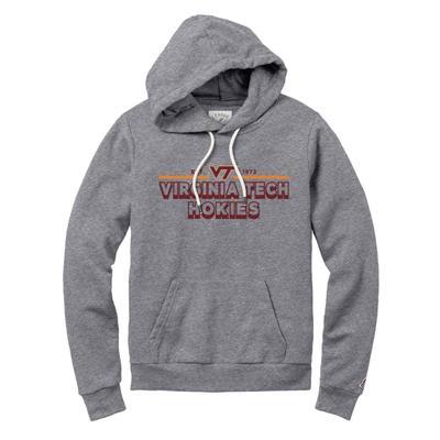 Virginia Tech League Victory Springs Hoodie FALL_HTHR